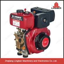 Lingben China Zhejiang diesel engine single cylinder 4 stroke air cooled LB170F