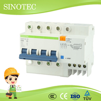 Rcbo rccb rcd residiual current circuit breaker rcbo circuit breaker with saa certification rcbo 16a automatic circuit breaker