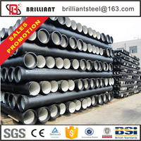 Trade assurance galvanized iron pipe specification 150mm ductile iron pipe industrial pipe