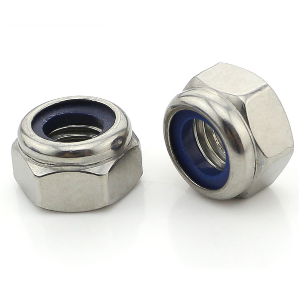 duplex 2205/ S31803 stainless steel din985 <strong>hex</strong> nylon insert lock <strong>nuts</strong>