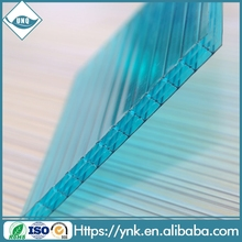 100% virgin Bayer uv protected building material polycarbonate hollow sheet pc multi wall soft panel