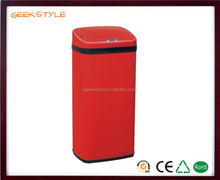 Factory direct sensor trash can large size hotel use plastic dustbin