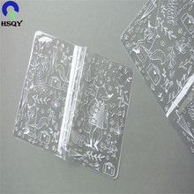 Stationery Protective Cover Film Crystal PVC Soft Film Transparent Plastic Sheet Roll
