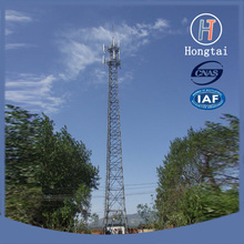 65m 4 legged communication angle steel tower