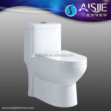 A3108 BATHROOM EQUIPMENT DOUBLE FLUSH SOFT CLOSE SEAT COVER ONE PIECE TOILET