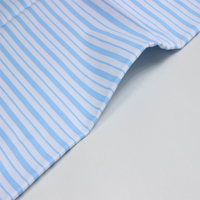 100 cotton satin stripe fabric raw for bed sheet