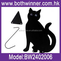 Cast iron cat hanger ,H0T236 cat felt craft for sale