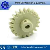 MMS suzhou gear High precision cnc machined plastic gear OEM injection molded