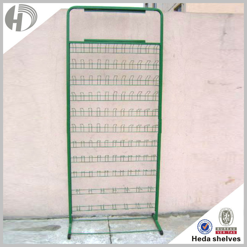 HEDA hot lowest price best quality black used chrome wire shelving