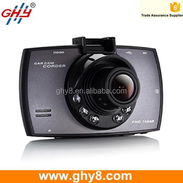 "2.7"" FHD 1080p Front View Night Vision 170 Degree Motion Detection H.264 Car Camera"