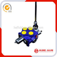24v solenoid valv agriculture valve hydraulic monoblock control valve for hydraulic system used truck spring