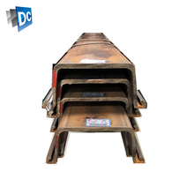 Hot Rolled Steel Sheet Pile Used To Isolated Noise Wall