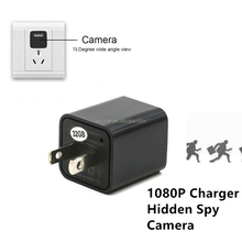 Toilet Spy camera charger hidden camera, 1080P HD very small hidden camera Charger Adapter Plug with Motion Detection