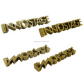 wholeslae custom metal letter label