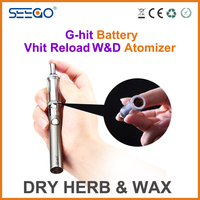 colored smoke e cigarette Seego Vhit Reload W&D rex dry herb vaporizer