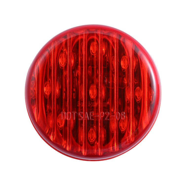 Best Saling Red Round 12V Car Accessories Led Tail Light for All Vehicles