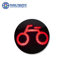 200mm road safety bicycle signal LED replacement traffic light module