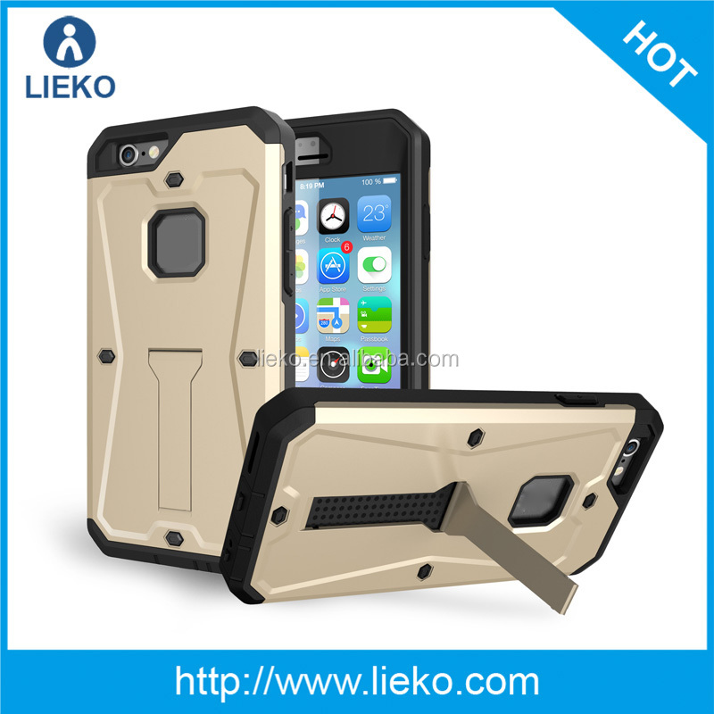 2in1 Hybrid Case for iphone6s Shockproof Hard Cover PC + Tpu Interior Scratch Protective Combo Cases Covers For iphone6s