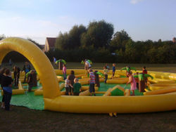 Inflatable Crazy golf