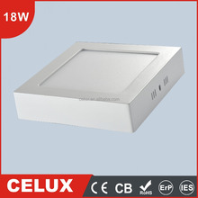 CB CE Approved 18W square surface mounted led downlight 2000lm