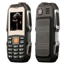Waterproof Shockproof Dustproof L9 Triple Proofing Elder <strong>Phone</strong> 3800mAh 1.8 inch 21 Keys LED Flashlight FM Dual SIM <strong>gsm</strong> <strong>phone</strong>