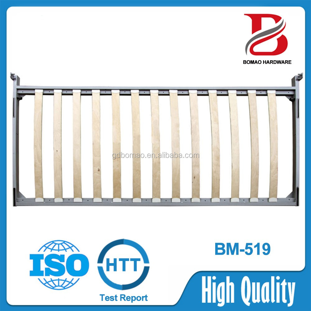 2000*1200mm Modern horizontal pull down wall bed with desk