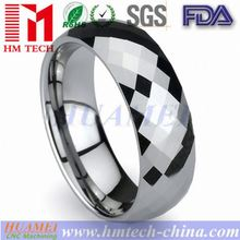 OEM Customize Black Resin Inlay Tungsten Ring TX-259,Curved Shape