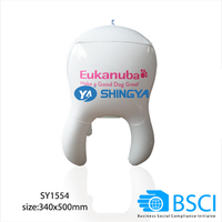 Advertising cheap pvc inflatable tooth