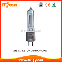 GKV glass halogen lamp cover rain lamp