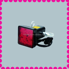 led trailer lights, dot trailer lights, trailer hitch cover with LED brake light
