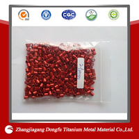 Thin wall thickness aluminum pigeon ring,polished surface treatment aluminum