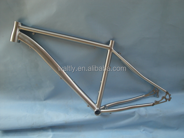 "Touring 26"" customize titanium mountain bike frame WT-M432M"