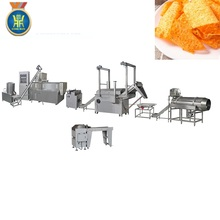 small double extruder food machine for doritos / tortilla