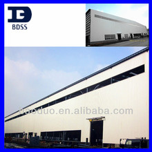 steel structure cladding prefabricated industrial factory frame