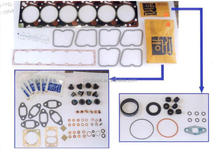 6B gasket kit for cummins to overhaul marine, auto, construction engines