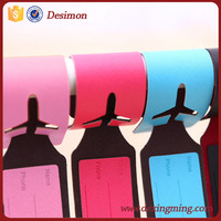 2015 new bestseller china gadget supplier custom compact pu leather buy in bulk airplane luggage tag