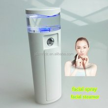 Wholesale mini recharge hair and facial steamer USB portable in facial spray face beauty personal skin care device