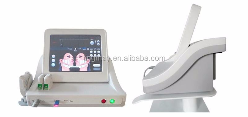 5 cartridges HIFU beauty machine