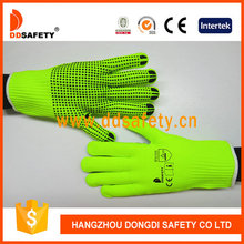 DDSAFETY 2017 Low Price Good Quality cut 5 glove liner dots