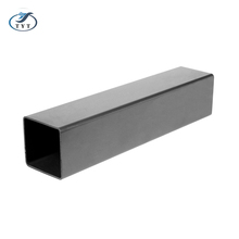 ISO Standard Stocked Steel Pipe, Building Materials Black Steel Square Pipe