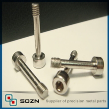 Self locking security set screws