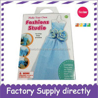 Make Your Own Fashion Studio-New education toy for kids