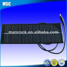 Epoxy Resin Encapsulation Mini Mono Solar Panel with Connecting Wire