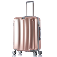 PC cabin luggage 50 60 70 3pieces travel trolley case suitcase