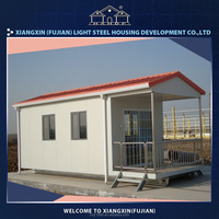 Easy installation light steel modern container home