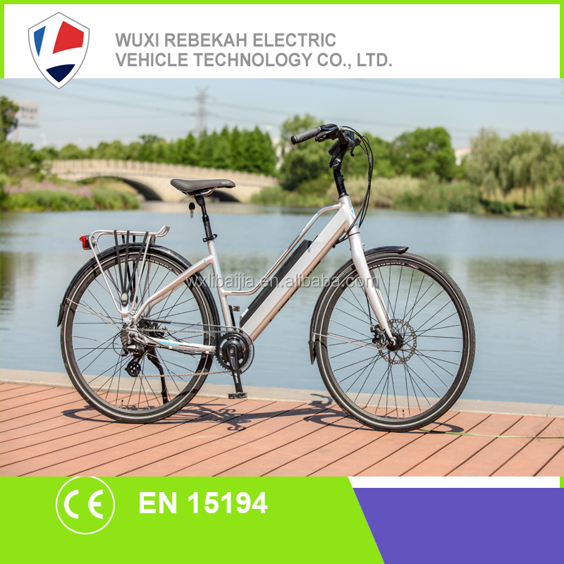 2017 best selling high quality 700C frame battery electric city bike