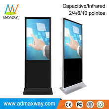 55 Inch Windows All In One Pc Computer Kiosk Stand With Touch Screen