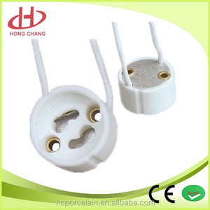 best quality CE certificate GU10 lamp socket halogen lamp holder