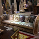 OE-FASHION Great Room Indoor Garden Designed Luxury Sofa and Decoration Item Set