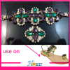 Fashion Handmade Lady Shoe Decoration Crystal